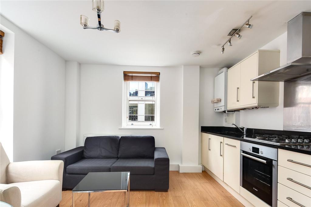 Living/Kitchen Area.
