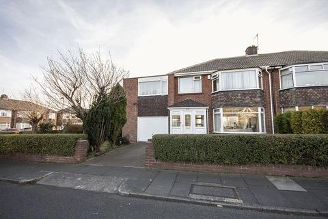 5 bedroom semi-detached house for sale - Briardene Crescent, Gosforth, Newcastle upon Tyne