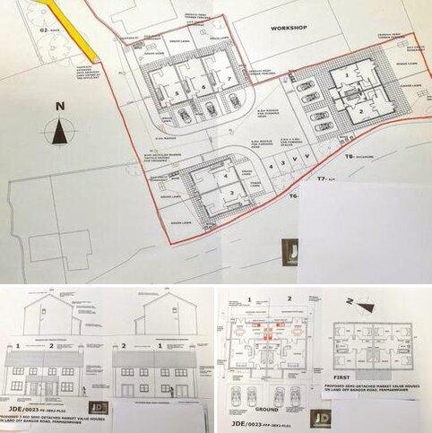 Land for sale - Development land off Bangor Road,, Penmaenmawr.