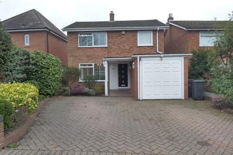 3 bedroom detached house to rent - Queens Park Road, Harborne, Birmingham, B32 2LA