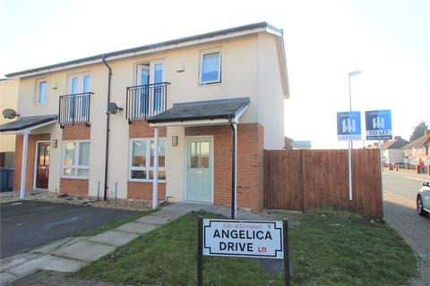 2 bedroom end of terrace house for sale - Angelica Drive, Liverpool, Merseyside, L11
