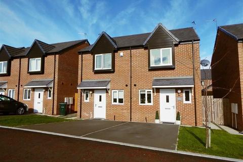 2 bedroom semi-detached house for sale - Walkerfield Court, Waker, Newcastle Upon Tyne, NE6