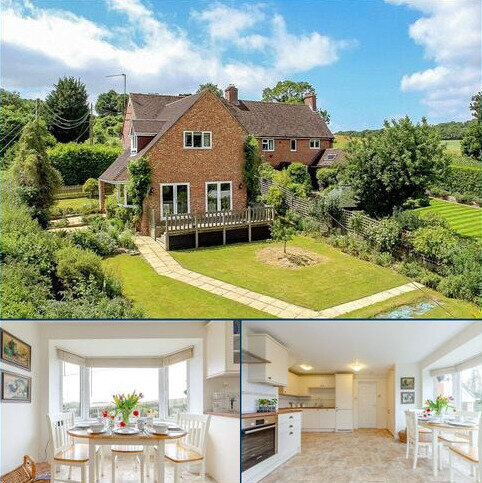 4 bedroom semi-detached house for sale - Easton Hill, Easton, Newbury, Berkshire, RG20