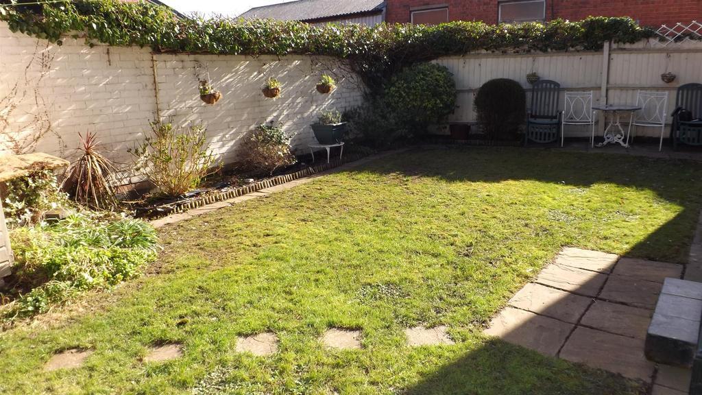 Shared rear garden