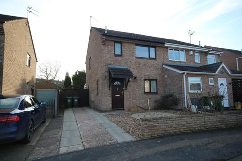 3 bedroom semi-detached house for sale - Southfield Close, Glen Parva, Leicester