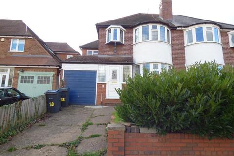 4 bedroom semi-detached house to rent - Harts Green Road, Harborne, Birmingham, B17 9TY
