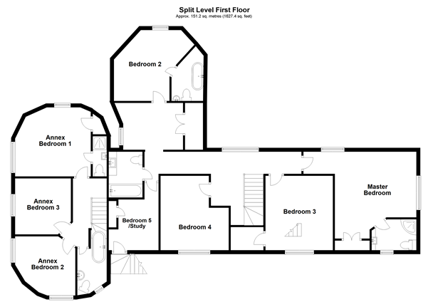 Floorplan 2 of 3: Split Level First Floor