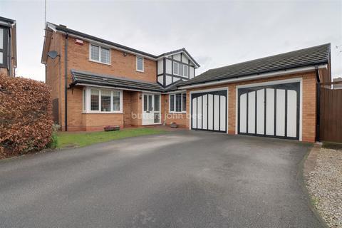 4 bedroom detached house for sale - Burton Grove, Leighton, Crewe