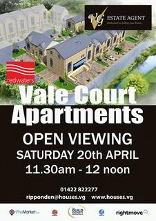 2 bedroom apartment for sale - 12 Vale Court, Mill Fold Way, Ripponden HX6 4HS