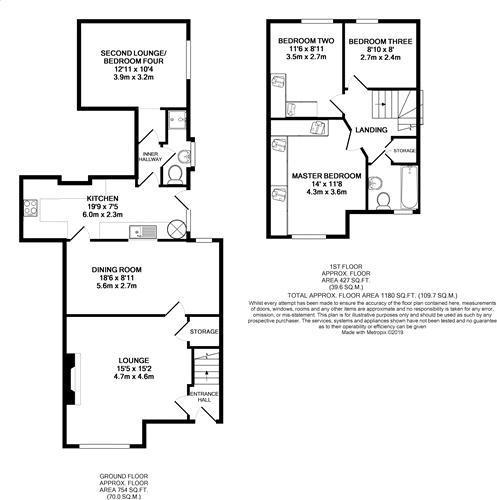 Floorplan: Hibbert Terrace