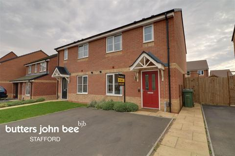 3 bedroom semi-detached house for sale - Paterson Drive, Stafford