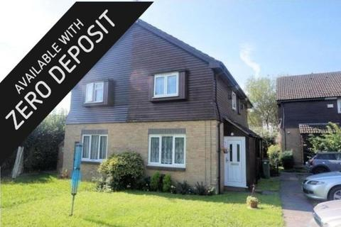 1 bedroom link detached house to rent - ZERO DEPOSIT OPTION   Cerne Close, West End