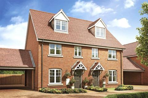 3 bedroom semi-detached house for sale - Heather Gardens, Hethersett,, Norwich,, Norfolk