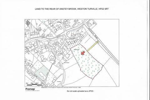 Land for sale - Rear of, Anstey Brook, Weston Turville, Aylesbury, Buckinghamshire
