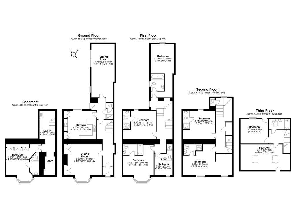 Floorplan: Brooklands Guest...