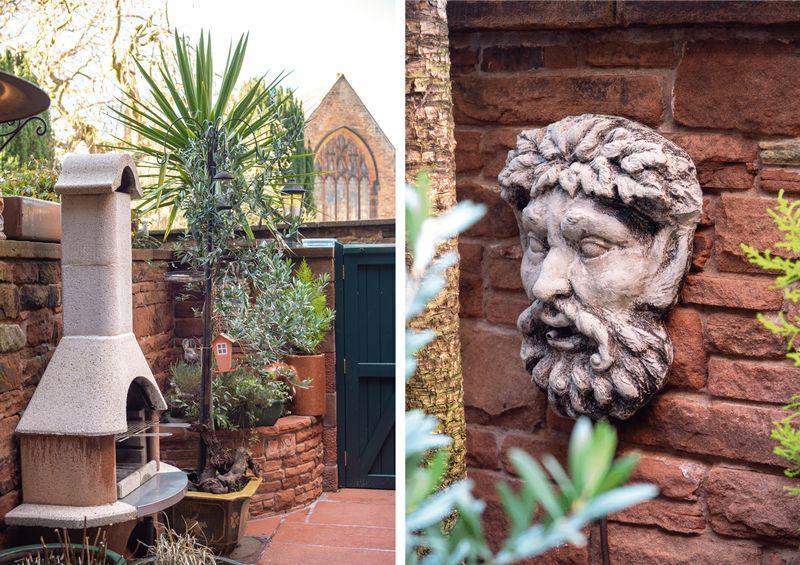Courtyard detail,