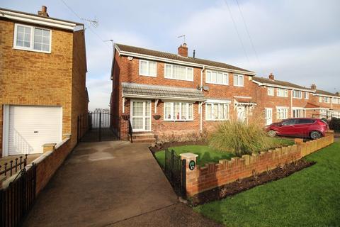 3 bedroom semi-detached house for sale - Hall Villa Lane , Toll Bar