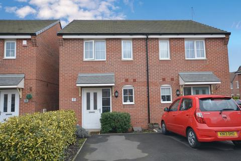 2 bedroom semi-detached house for sale - Darter Way, Northampton