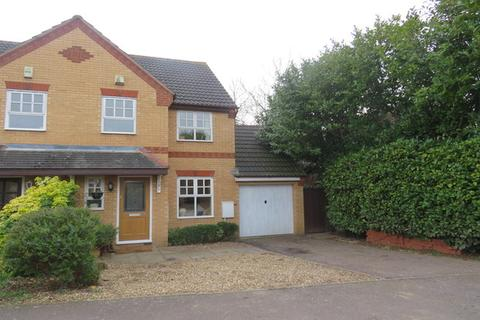 3 bedroom semi-detached house for sale - Muncaster Gardens, East Hunsbury, Northampton, NN4