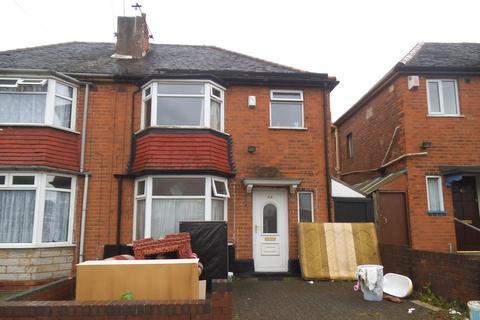 3 bedroom semi-detached house to rent - Normandy Road , Perry Barr , Birmingham  B20
