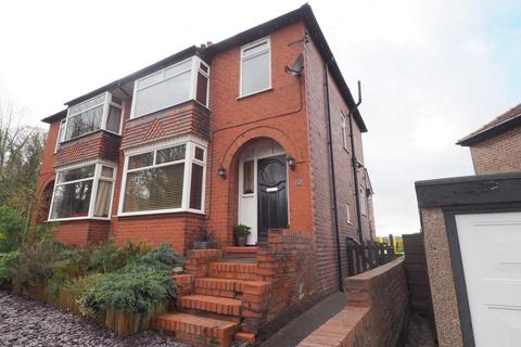 3 bedroom semi-detached house for sale - Overdale Road, Newtown, Disley, Stockport, SK12 2RJ