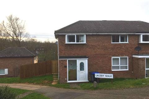 3 bedroom semi-detached house for sale - Laceby Walk, Watermeadow, Northampton