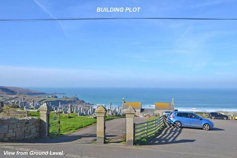 Plot for sale - Clodgy View, St Ives - above Porthmeor Beach, Cornwall