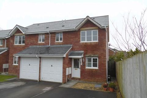 3 bedroom semi-detached house to rent - Llys Eglwys Broadlands Bridgend CF31 5DT