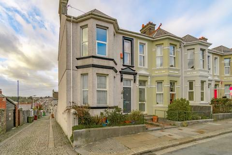 4 bedroom end of terrace house for sale - Old Park Road, Plymouth