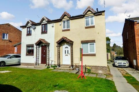 2 bedroom semi-detached house to rent - Lindisfarne, Peterlee, Durham, SR8 1NP