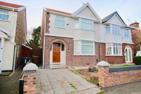 3 bedroom semi-detached house for sale - Oxford Avenue, Litherland, Litherland, Liverpool, L21