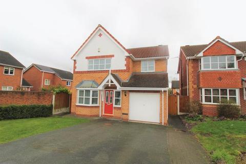 4 bedroom detached house for sale - Fontwell Close, Llwyn Onn Park, Wrexham