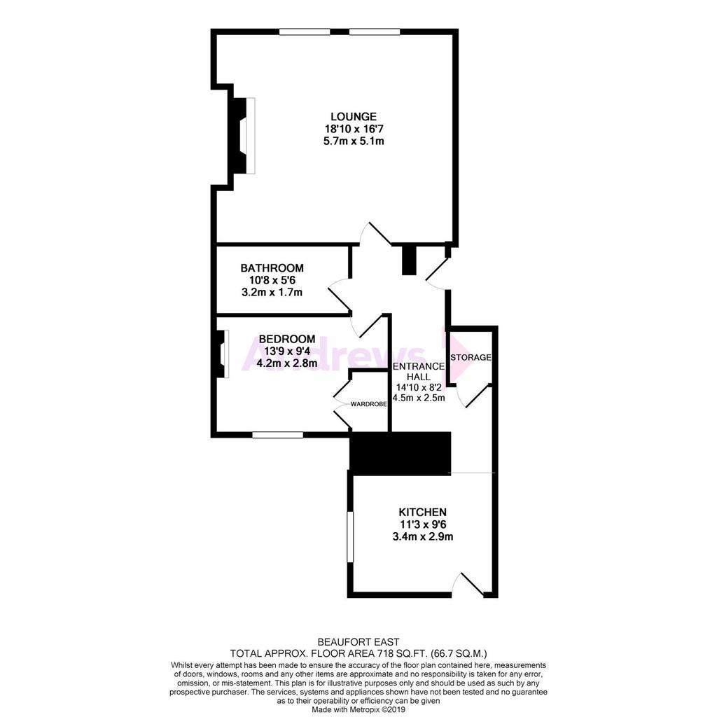 Floorplan: 7 Beaufort East
