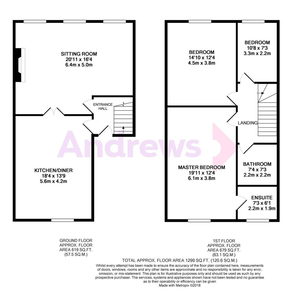 Floorplan: Metropix11895440