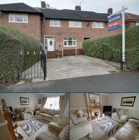 3 bedroom terraced house for sale - Beaumont Avenue, Manor Patk, S2