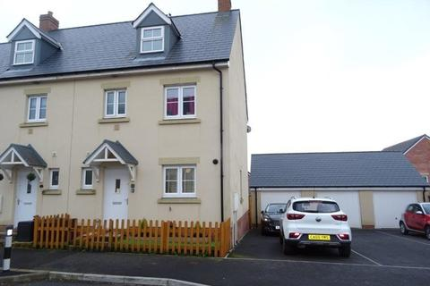 4 bedroom townhouse for sale - Ffordd Y Draen, Coity, Bridgend
