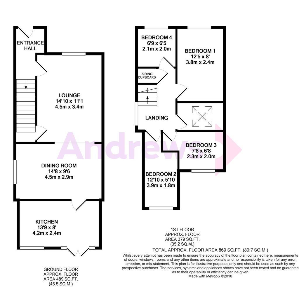 Floorplan: Slimbridge Close