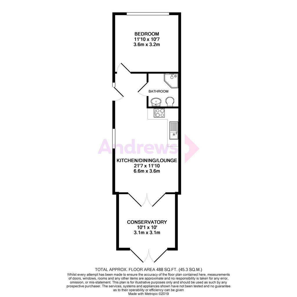 Floorplan: Highworth Crescent