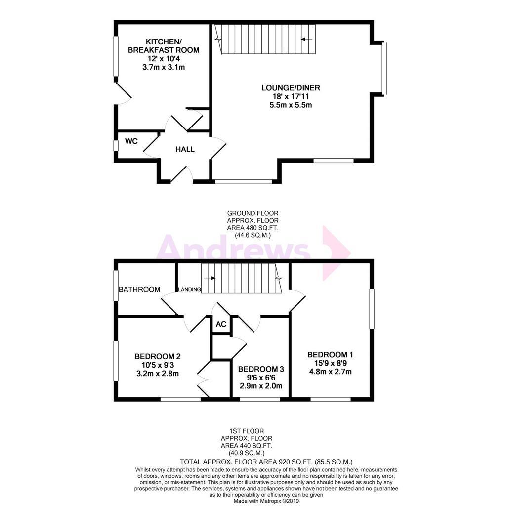 Floorplan: Oak Close