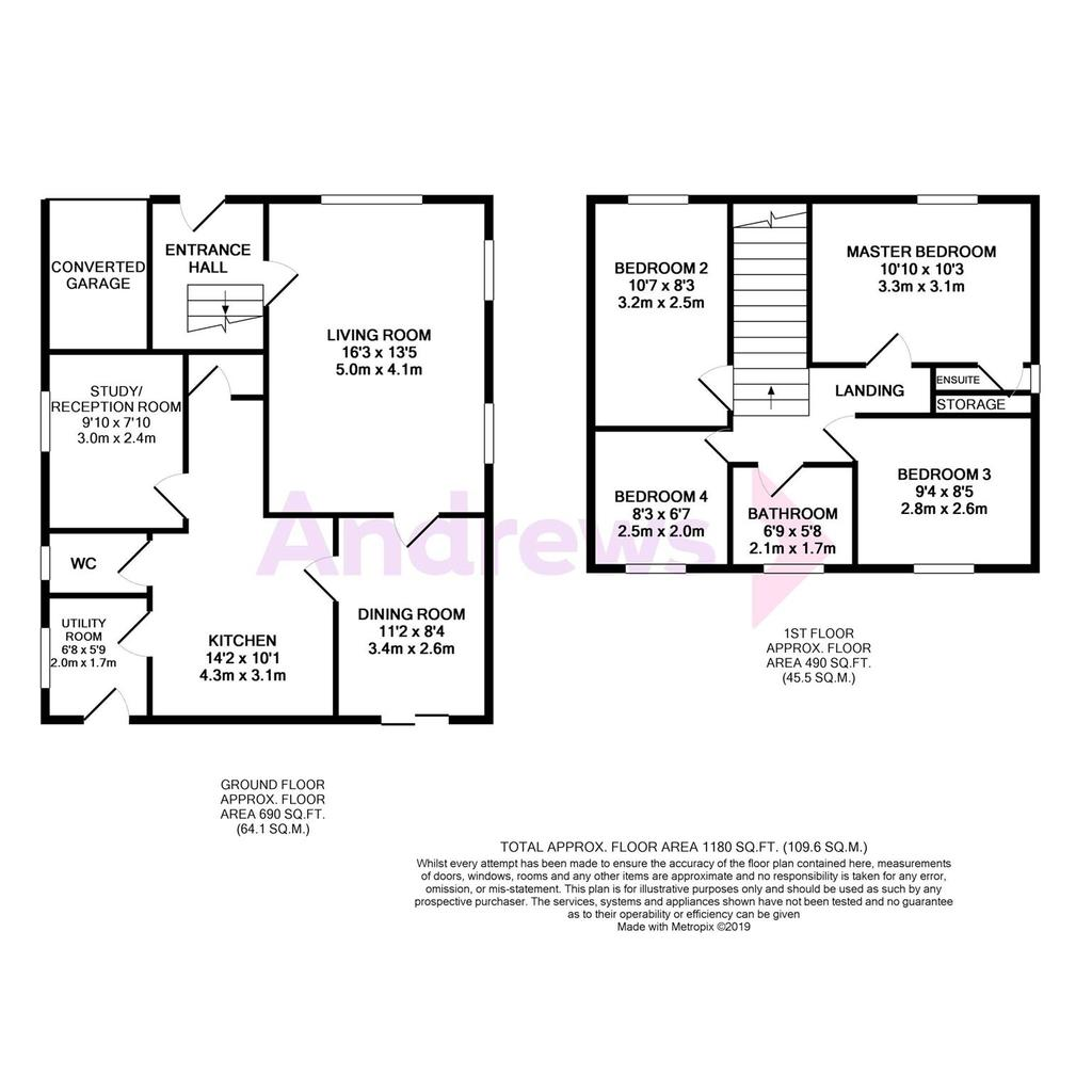 Floorplan: 29 Lower Moor Road