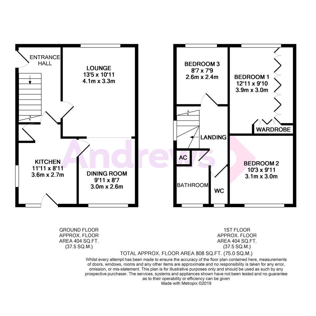 Floorplan: Kestrel Close