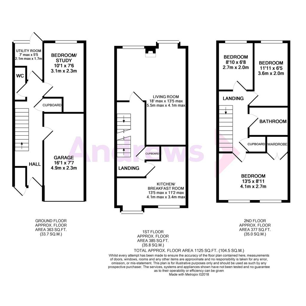 Floorplan: Metropix11867833