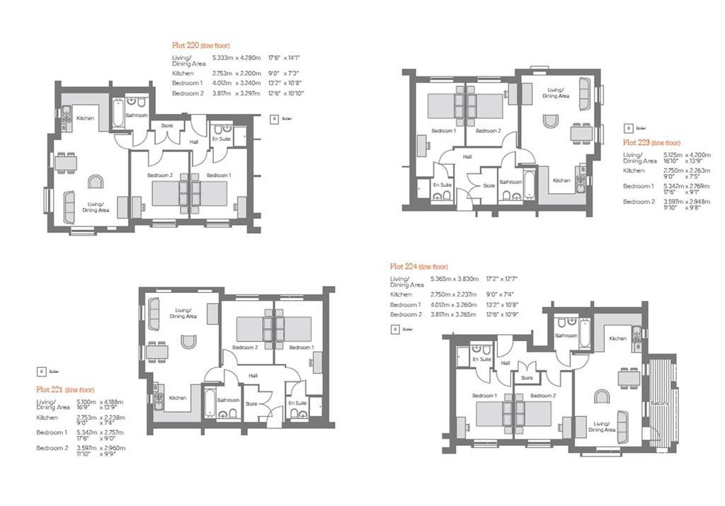 Floorplan 2 of 3: First Floor Floorplans