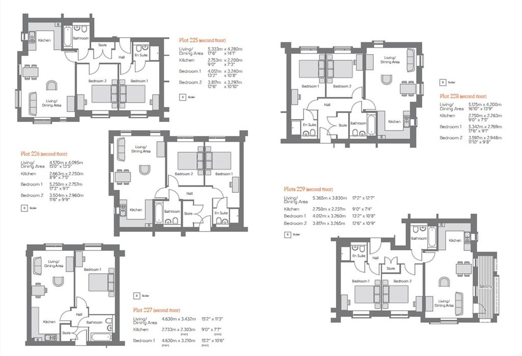 Floorplan 3 of 3: Second Floor Floorplans