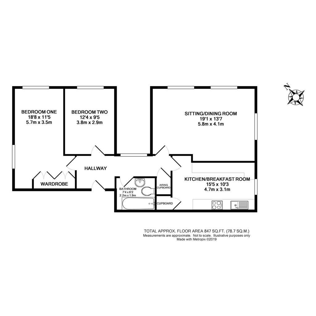 Floorplan: Metropix12851923