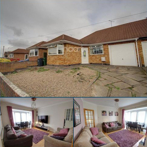 3 bedroom bungalow for sale - Southdown Drive, Thurmaston, Leicester