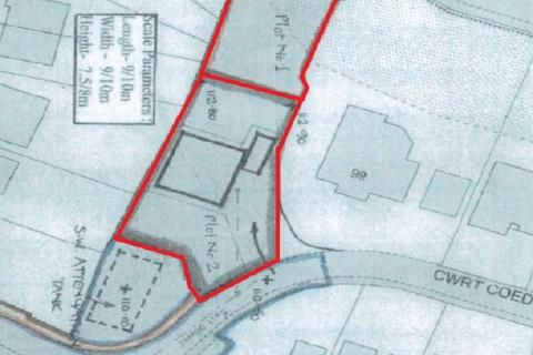 Land for sale - Cwrt Coed Parc, Maesteg, Bridgend County. CF34 9DR