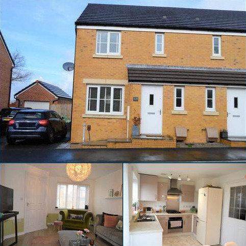 3 bedroom semi-detached house for sale - Heol Y Pibydd, Swansea, SA4