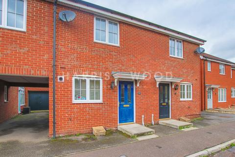 2 bedroom terraced house for sale - Carus Crescent, Highwoods, Colchester, CO4