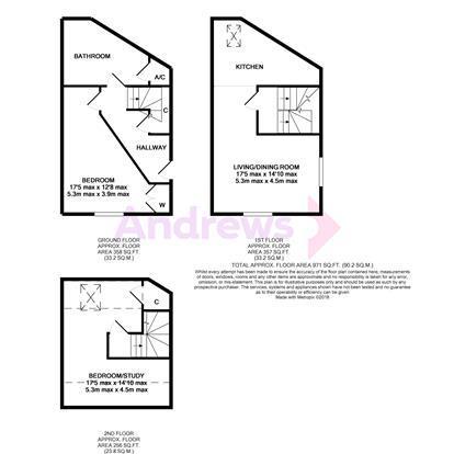Floorplan: 9 Lawnswood Court